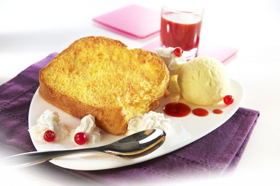 Brioche French toast - for dessert