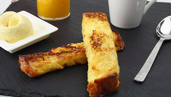 Brioche French toast sticks